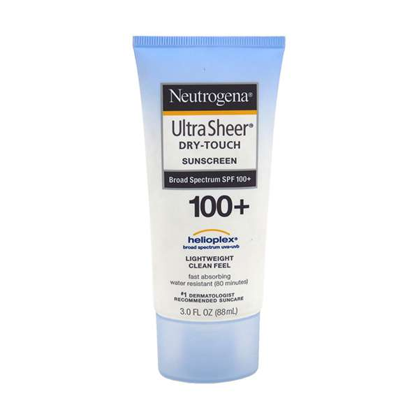 Neutrogena Sheer Sunsceen Dry-Touch Spf100+