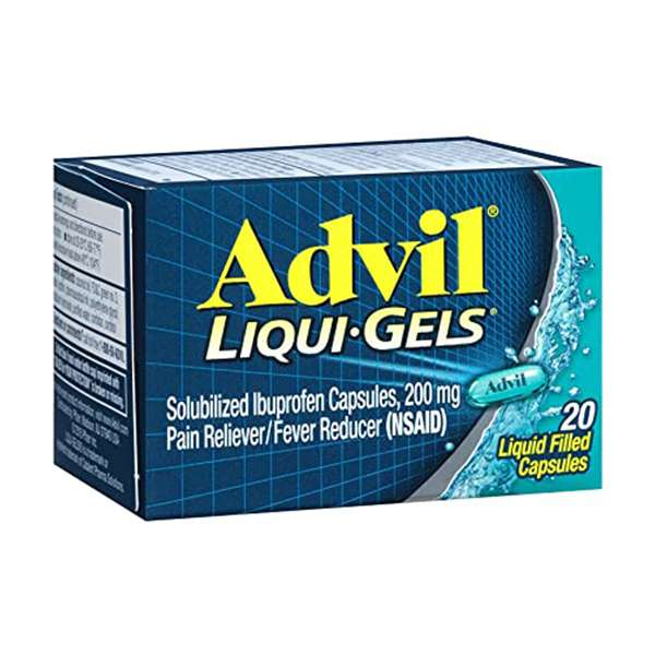 Advil Liqui-Gels, 200-mg Ibuprofen Liquid Capsules