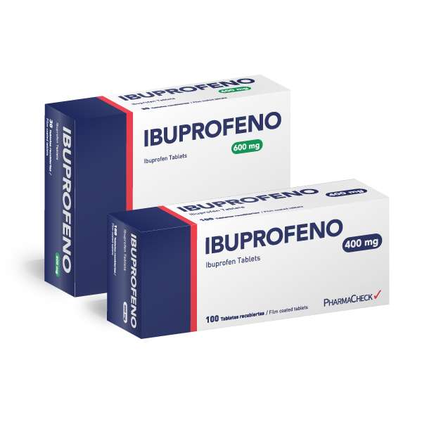 Ibuprofeno 600 mg, 30 Tablets