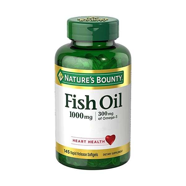 Nature's Bounty Fish Oil Omega-3 1000 mg