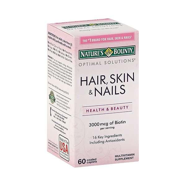 Nature's Bounty Solutions Hair, Skin & Nails Formula