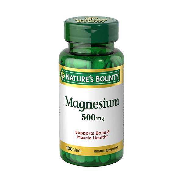 Nature's Bounty Magnesium, 500 mg Coated Tablets