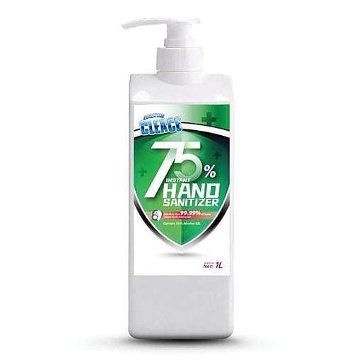 Cleace Hand Sanitizer 75% Alcohol 1L