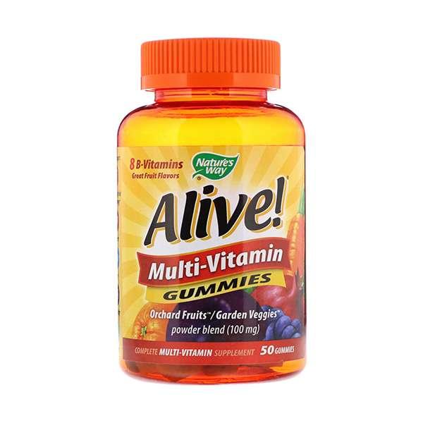 Nature's Way, Alive! Multi-Vitamin Gummies, Fruit Flavor