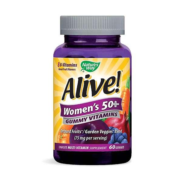 Nature's Way Alive!® Women's 50+ Multivitamin Gummies