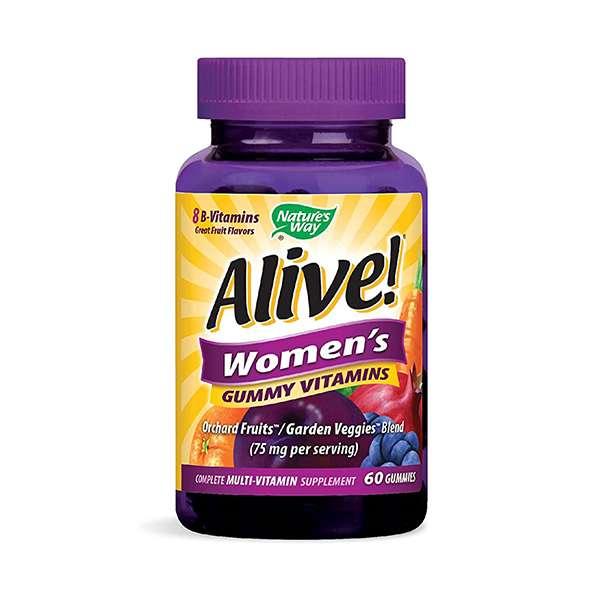 Nature's Way Alive! Women's MultiVitamin Gummy 60 Count
