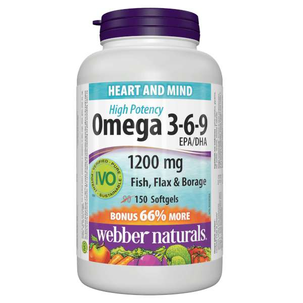Webber Naturals Omega 369