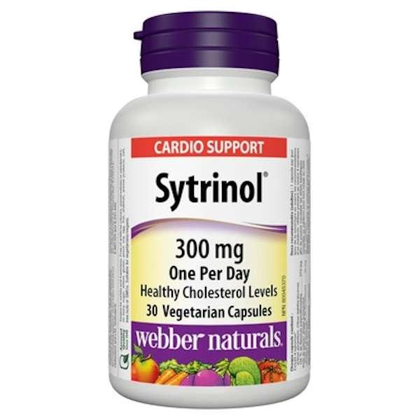 Webber Naturals Sytrinol 300mg 30 Cap