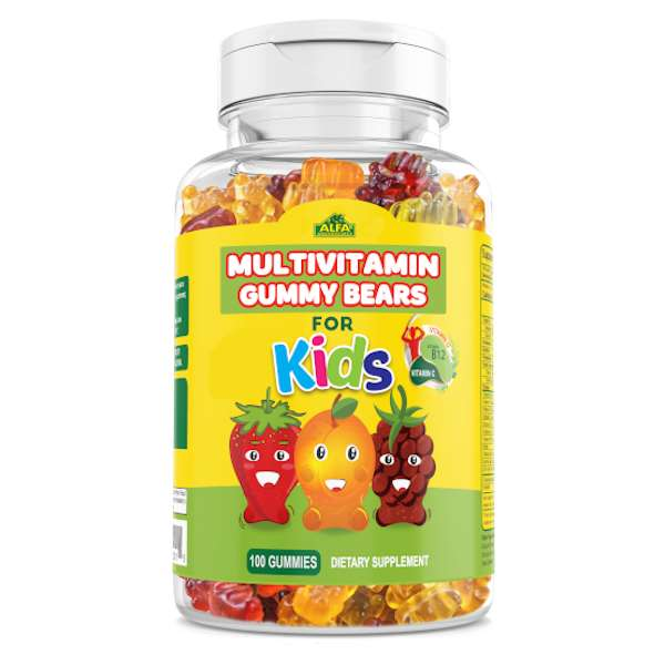 Alfa Vitamins Multi Gummy Bears 100 PC