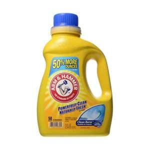 A&H Liquid Laundry Detergent, Clean Burst Scent, 75 oz