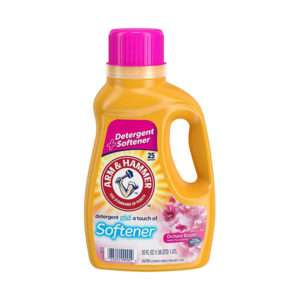 A&H Liquid Laundry Detergent Plus Softener Orchard Bloom, 75 oz