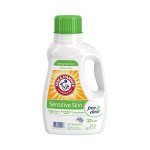 A&H Perfume and Dye Free Sensitive Liquid Laundry Detergent, 50 oz
