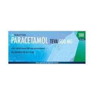 Paracetamol Teva 500mg, 50 Tab.