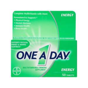Bayer One-A-Day Energy 50's Multivitamin