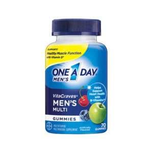 Bayer One a Say VitaCraves  Men's, 70 Gummies