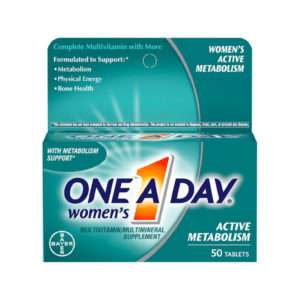 Bayer One a Day  Women's Active Metabolism 50 Tablets