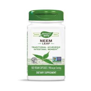 Nature's Way Neem Leaf, 950 mg, 100 Vegan Capsules