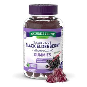 Nature's Truth Sambucus Black Elderberry Gummies