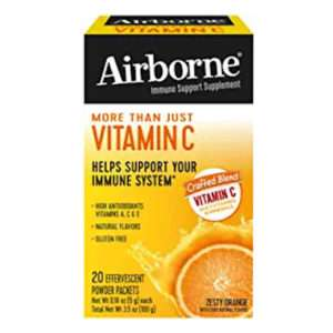 Airborne Vit C 10st Powder Packets