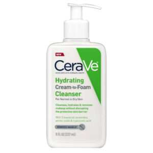 CeraVe Hydrating Cream-to-Foam Face Cleanser