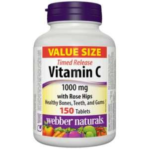 Webber Naturals Vitamin C Time Release 1000 Mg 150.0 TAB