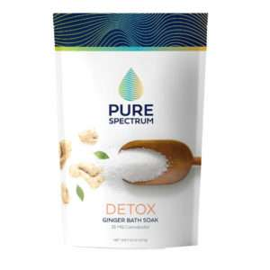 Pure Spectrum Detox: Ginger Bath Soak 25mg / 2237g