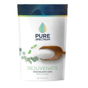 Pure Spectrum Rejuvinate: Eucalyptus Mint Bath Soak 25mg / 2237g