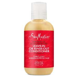 SheaMoisture Red Palm Oil & Cocoa Butter Leave-in or Rinse-Out Conditioner Travel Size – 3.2oz