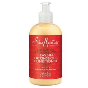 SheaMoisture Red Palm & Cocoa Butter Leave-in or Rinse-Out Conditioner 13 Fl Oz